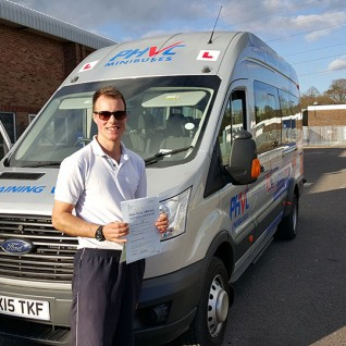 Trailer Training UK PCV D1+E minibus driving test